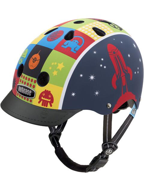 Nutcase Little Nutty Street Cykelhjälm Barn blå/flerfärgad
